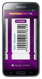 Personal e-ticket