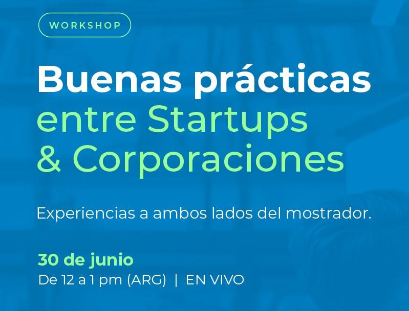 buenas practicas entre startups y corporaciones